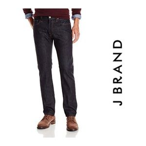 J Brand Men's Kane straight leg Jeans Raw 33